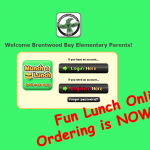 Fun Lunch Ordering is Now Open