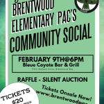 Do you have your Brentwood PAC Social Tickets yet???