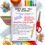 TIME TO ORDER SCHOOL SUPPLIES!